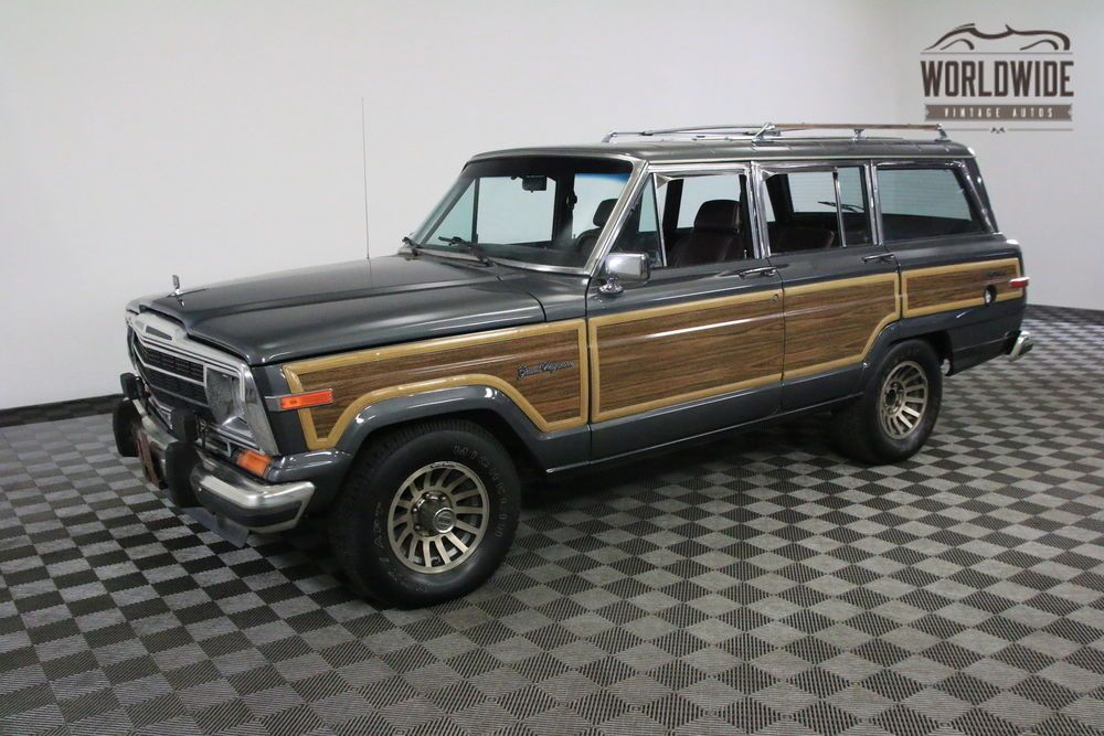 1990 Jeep Wagoneer RARE ROOF RACK. FACTORY WHEELS. V8! CLEAN!