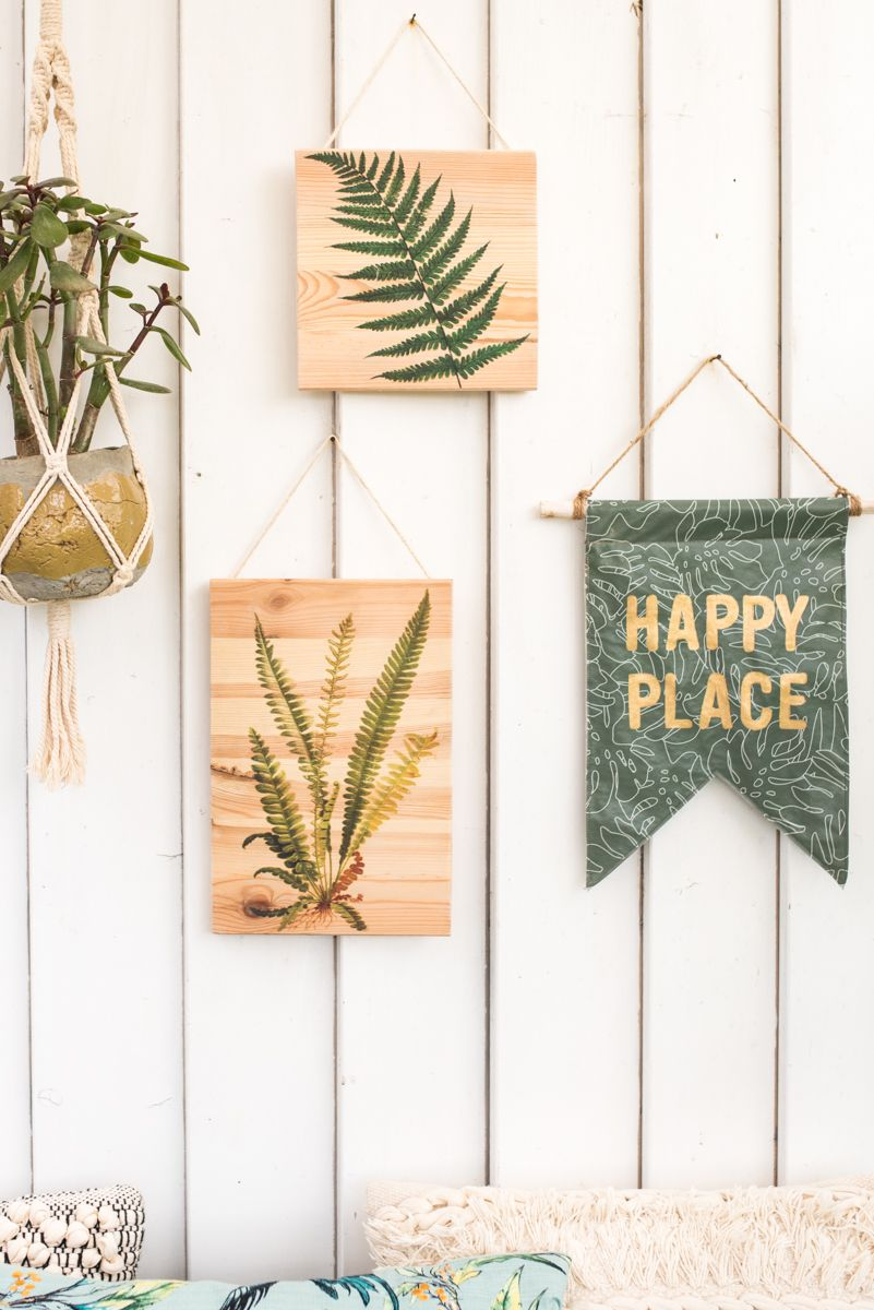 Photo of DIY – Botanical wall decoration made of wood for the balcony – Leelah Loves
