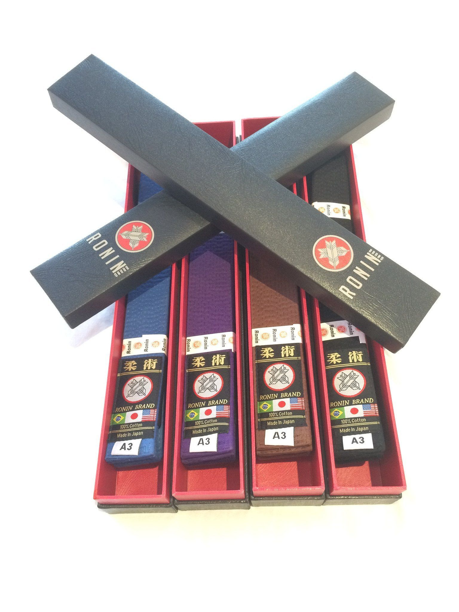 Ronin Brand Deluxe Black Belt