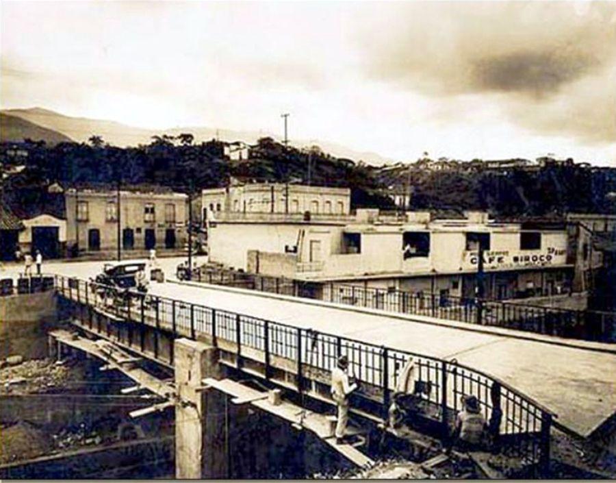 Catia, Puente Agua Salud, Caracas, 1928