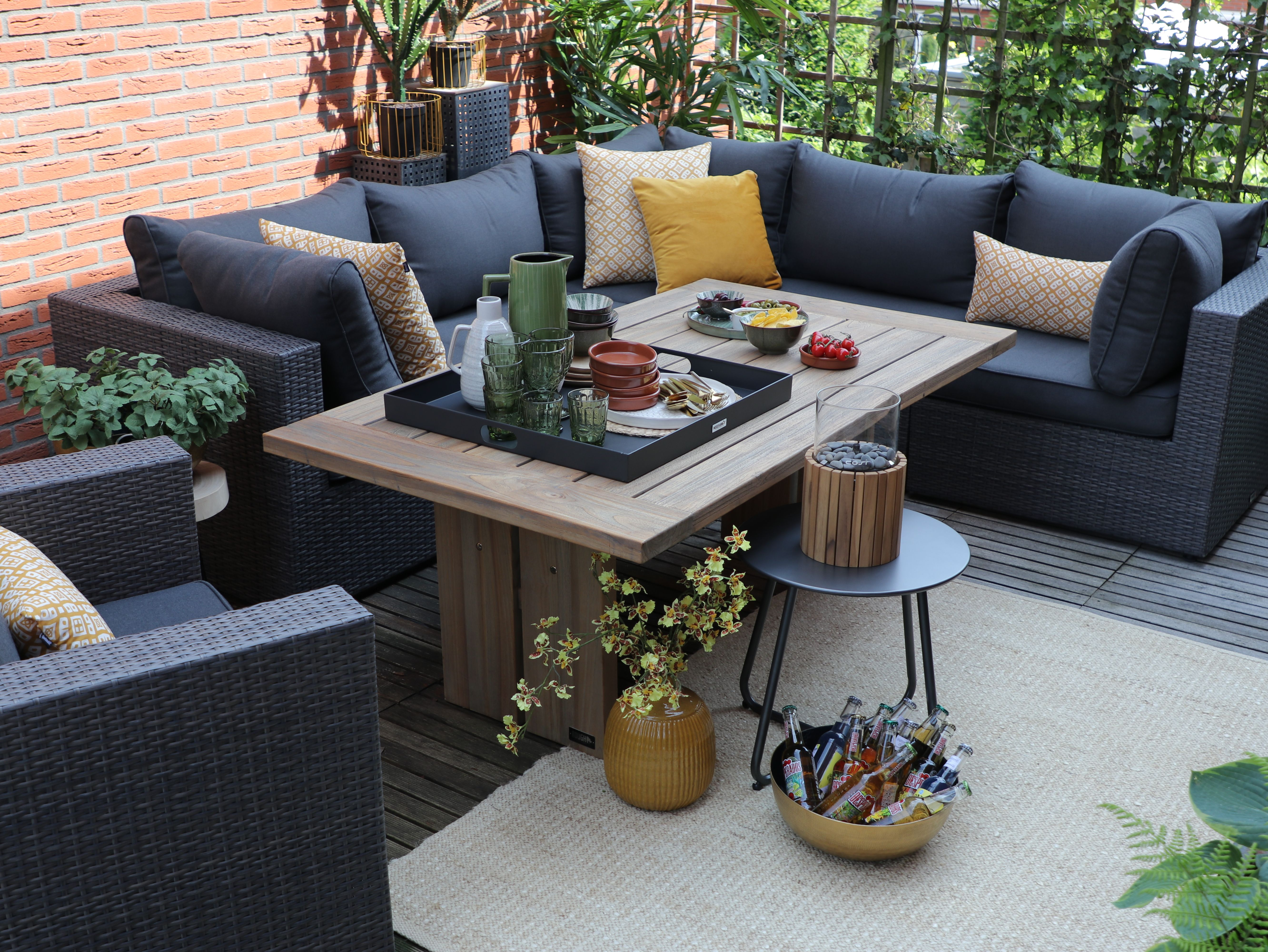Launch Möbel Terrasse Lounge-sets | Gartenmöbel Sets, Terasse Möbel, Haus Deko