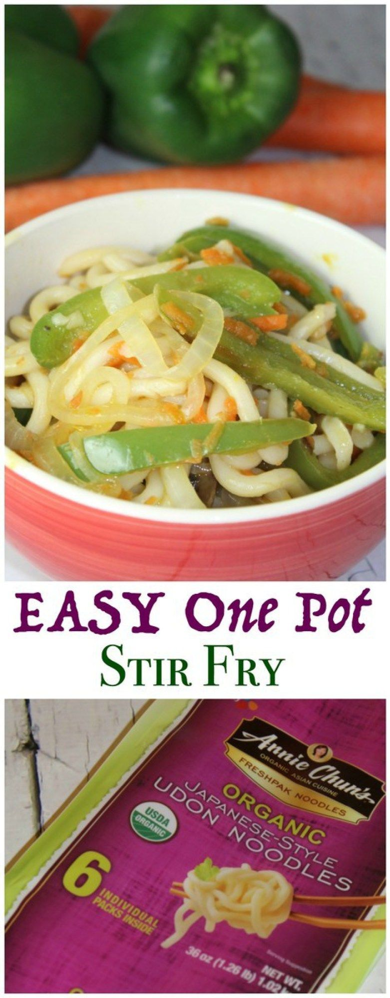 Easy One Pot Stir Fry is the perfect dinner for a night when you ...
