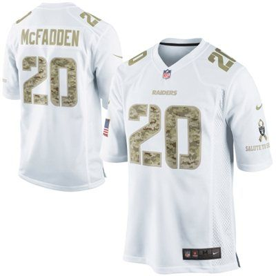 best service 82f1e 5eb80 Nike Darren McFadden Oakland Raiders Salute to Service Game ...