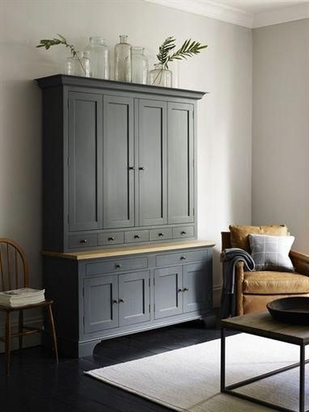 A Comprehensive Overview On Home Decoration In 2020 Dresser In Living Room Tall Cabinet Living Room Living Room Cabinets