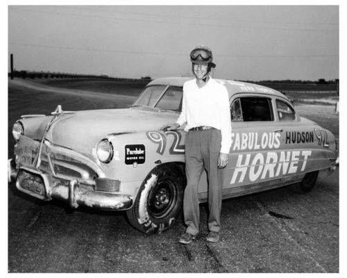 herb thomas 92 fabulous hudson hornet 1951 southern 500 winner gn champion