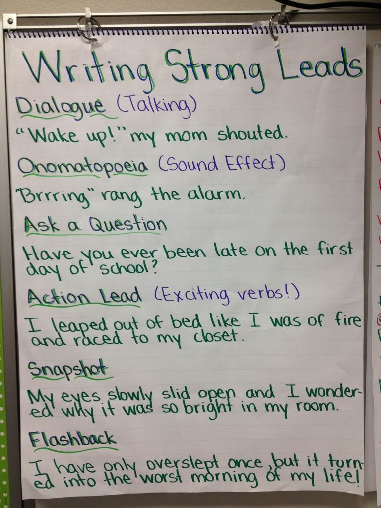 good leads for argumentative essays