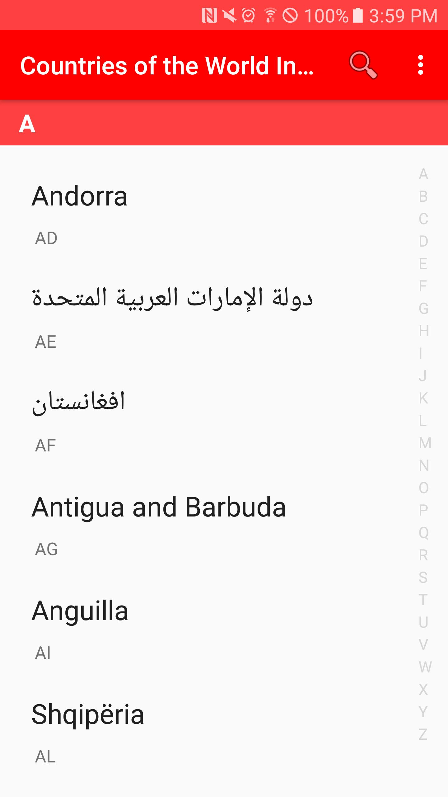 Países Del Mundo Información Países Del Mundo Continentes Apps