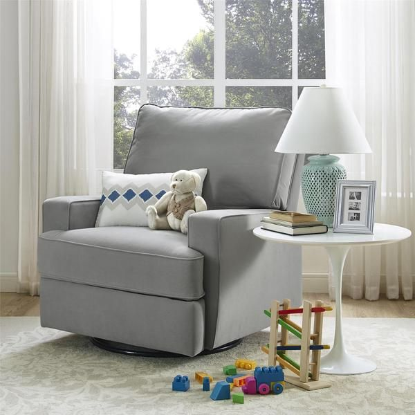 Exceptionnel Baby Relax Rylan Grey Swivel Gliding Recliner | Overstock.com Shopping    The Best Deals