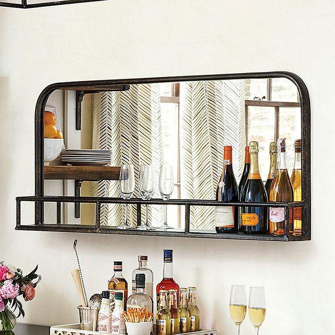 Kingston Bar Shelf In 2019 Bar Shelves Basement Bar