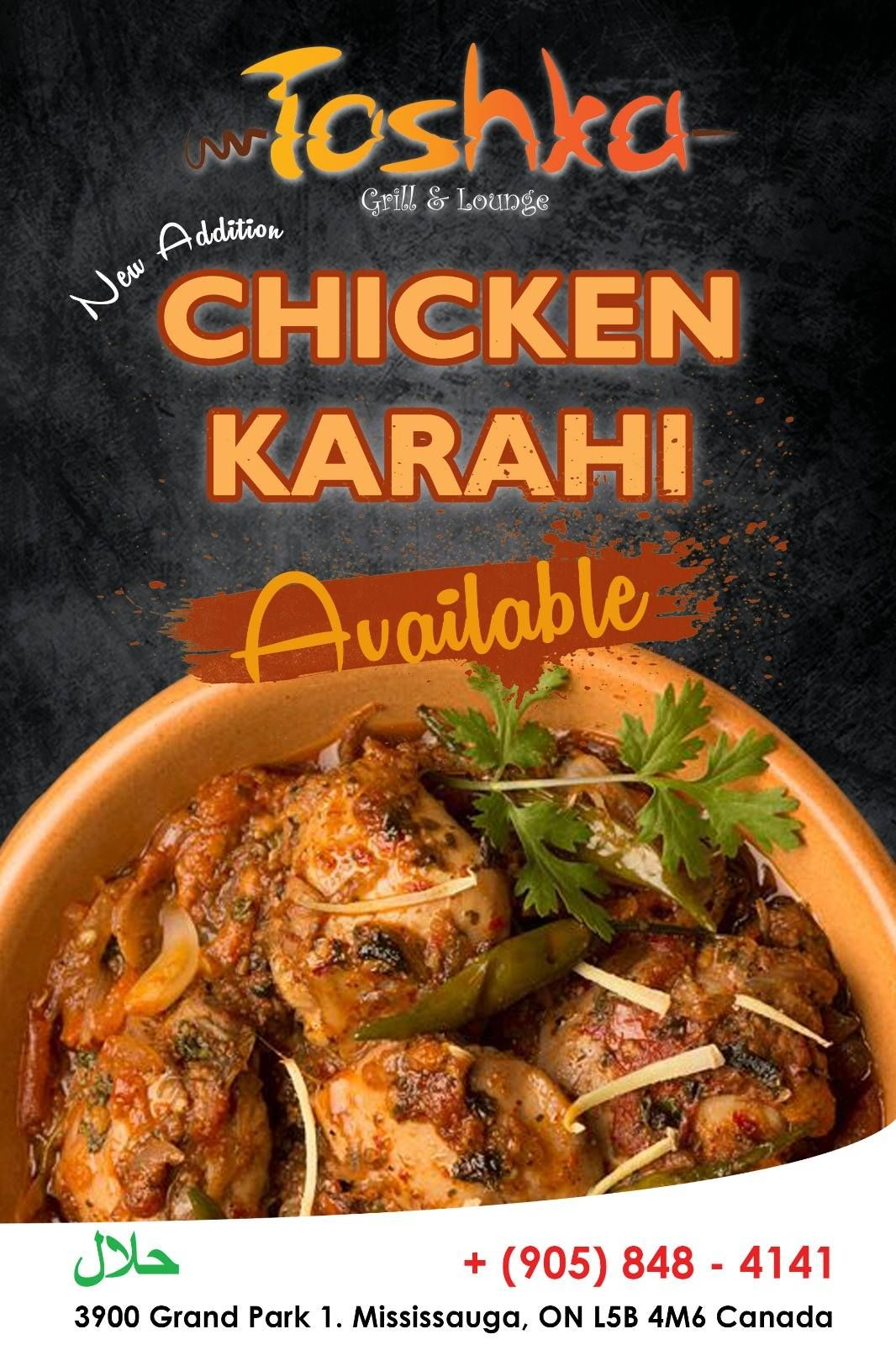 When It Comes To Tasty Desi Cuisines You Just Can T Compromise Chicken Karahi For More Info Details Call 905 848 Halal Recipes Desi Food Chicken Recipes