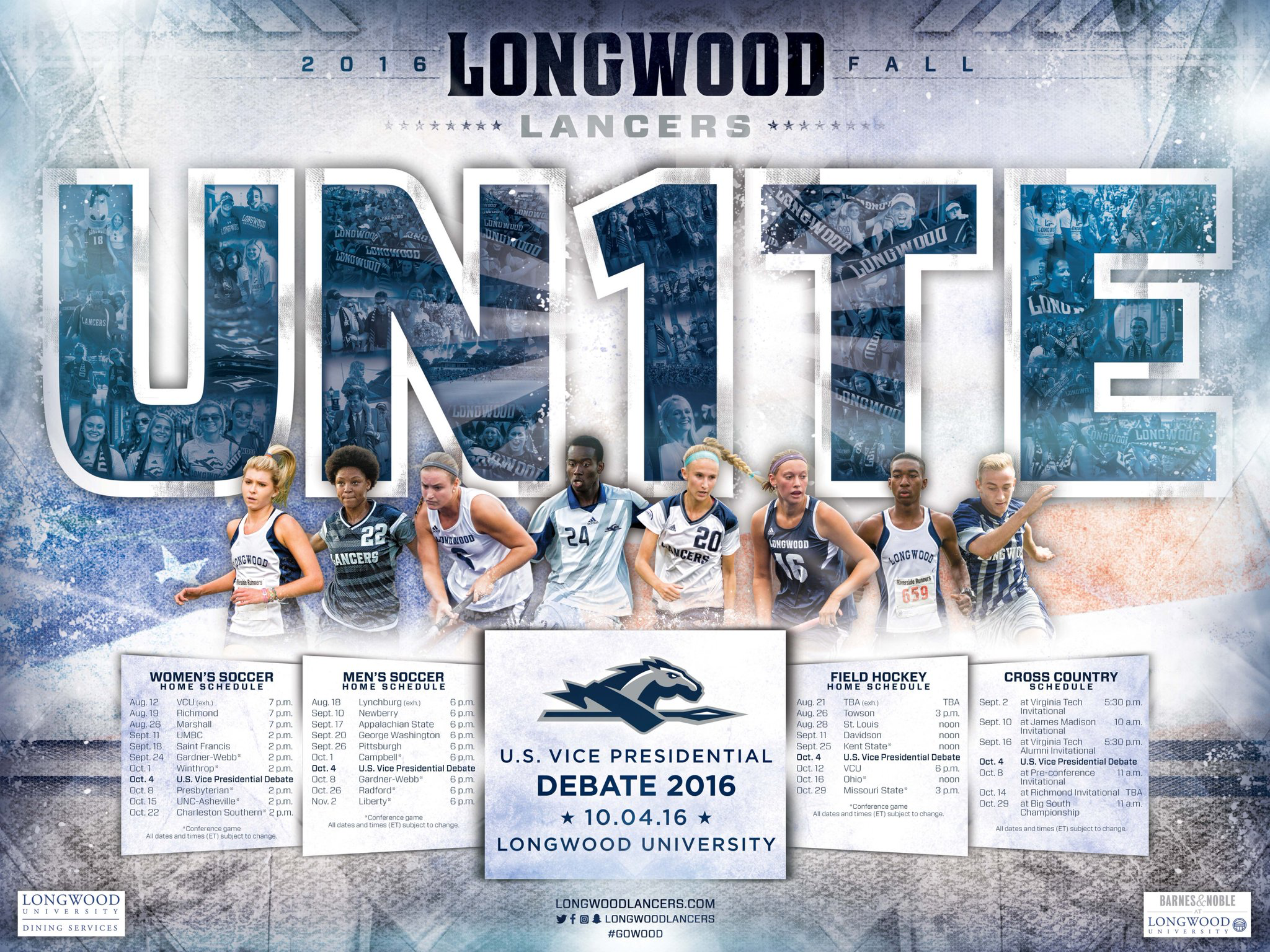 Longwood Sports Graphics College Athletics Olympic Sports