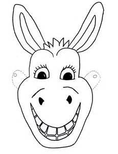Donkey Mask Printable Bing Images Animal Mask Templates Donkey Mask Animal Templates