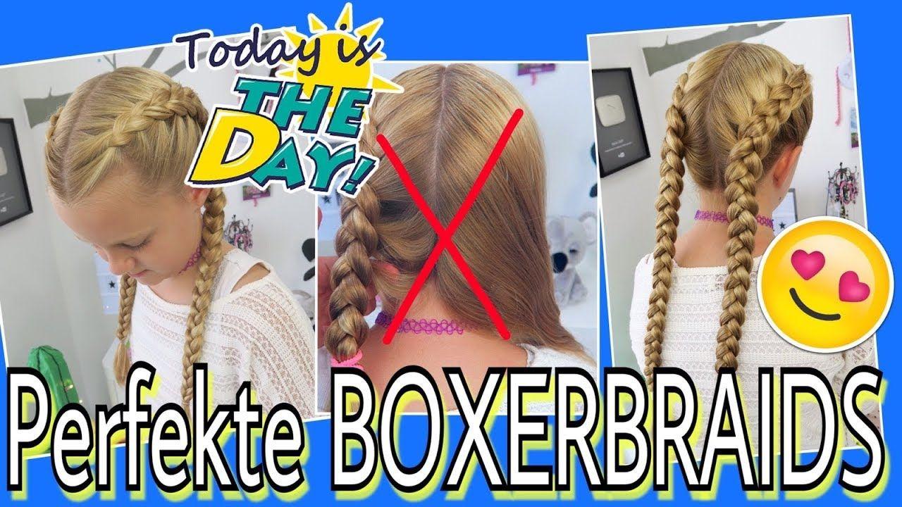 Boxerbraids Endlich Schaffen Tipps Tricks Strahnen Halten Mavie Noelle Frisuren Frisuren Tutorial Madchen Frisuren