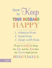 ways to keep husband happy