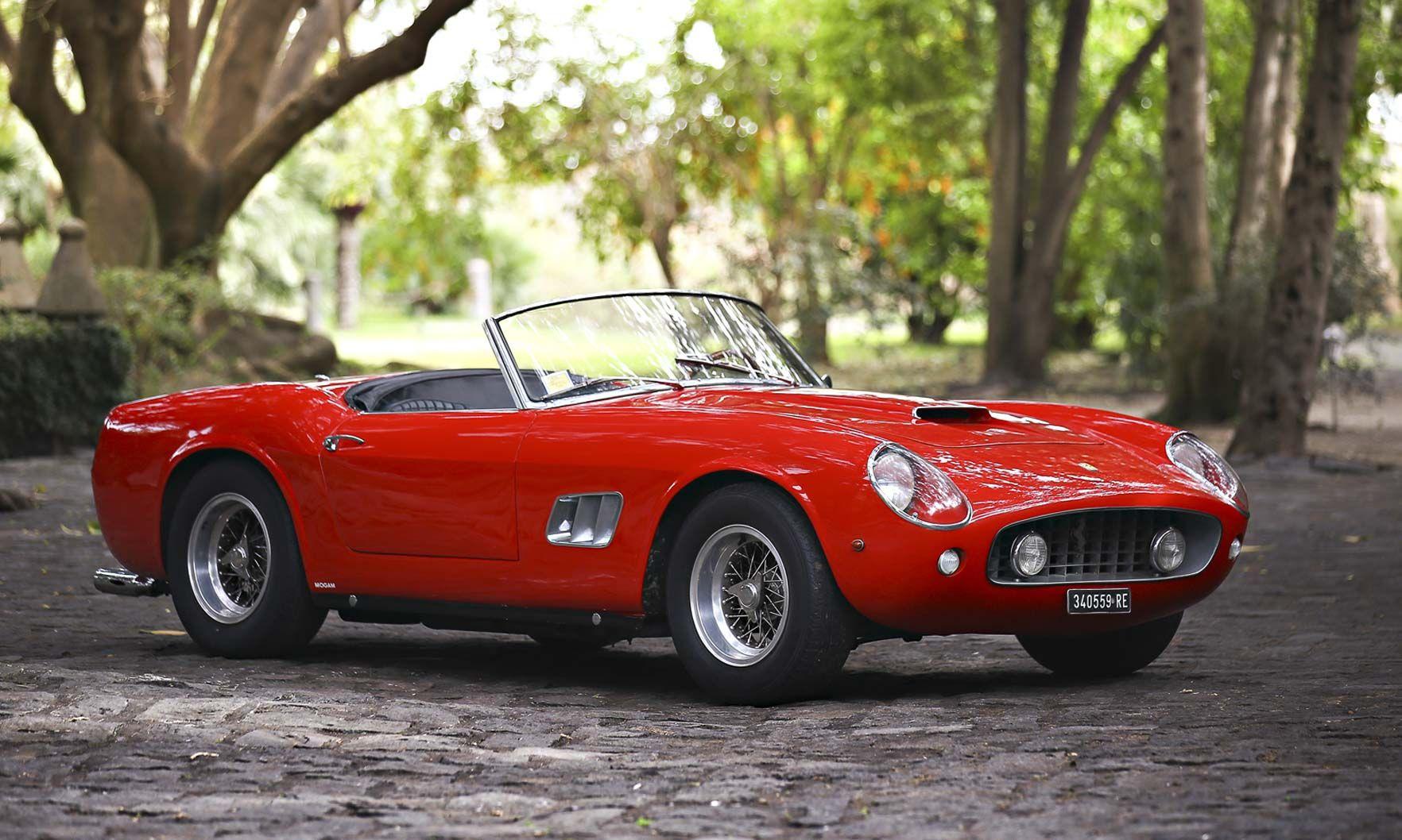 1961 Ferrari 250 Gt Swb California Spider Teuere Autos Superauto Ferrari California