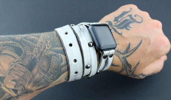 Pin on Leather Cuff Watch b480990139