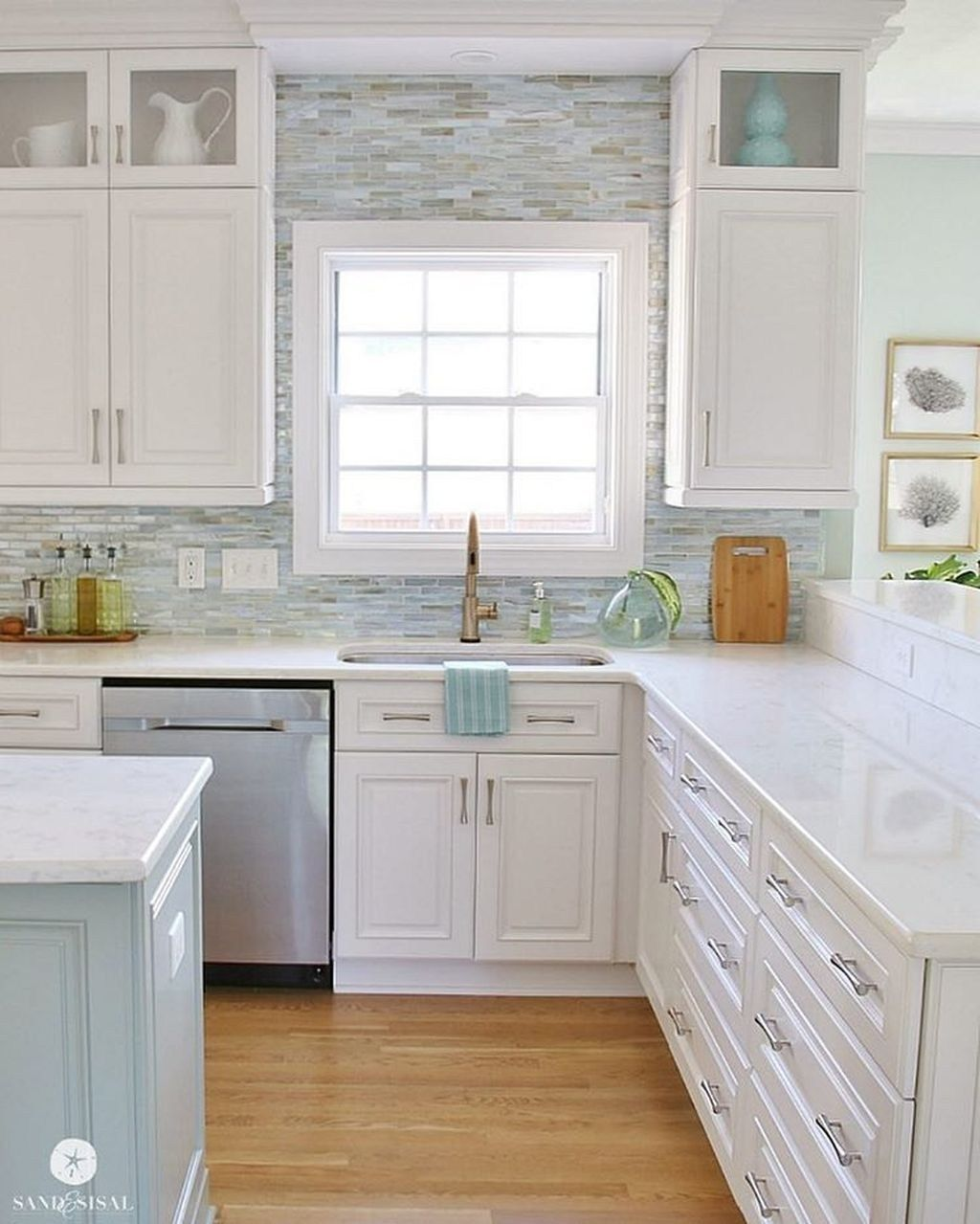 Gorgeous Coastal Kitchen Design Ideas 41 Coastal Kitchen Design Beach House Kitchens White Kitchen Design