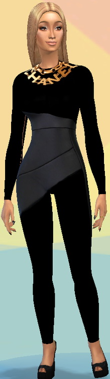 New outfits at Luxurious Sims 4 via Sims 4 Updates