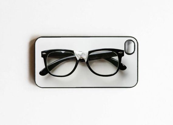 8eb66a7ed617 Nerd Glasses iPhone Case
