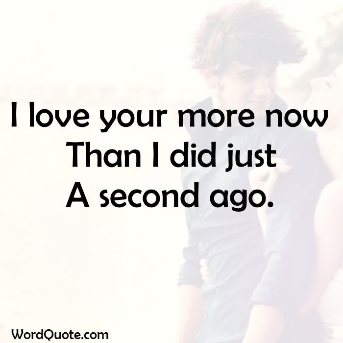 cute i love you more quotes