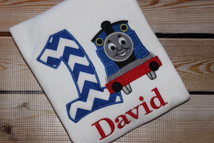 A personal favorite from my Etsy shop https://www.etsy.com/listing/249111035/personalized-thomas-the-train-birthday