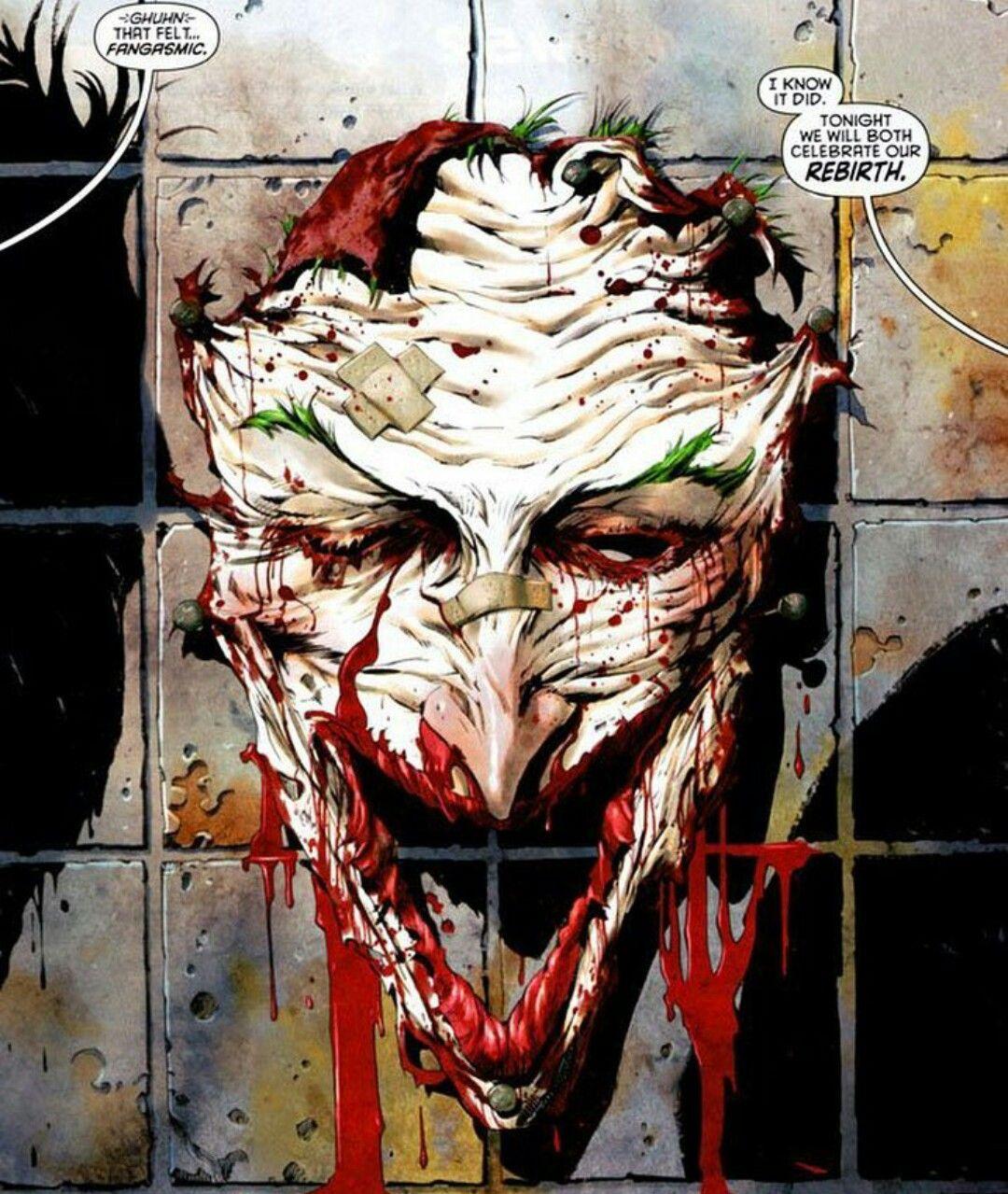 The Joker Face Cut Off Comics Joker Comic Detective
