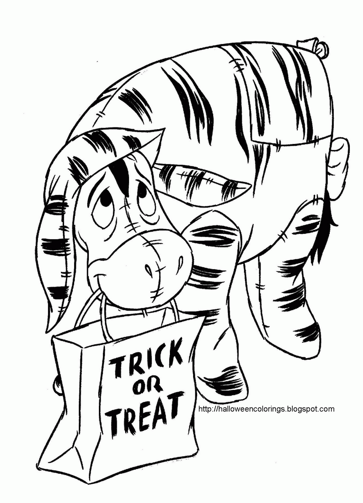 Halloween coloring printables disney - Halloween Coloring Pages Halloween Colorings