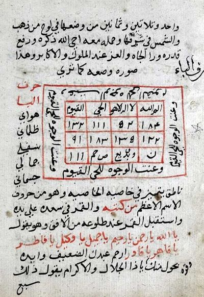 مخطوط الحكمة السليمانية الأصلي