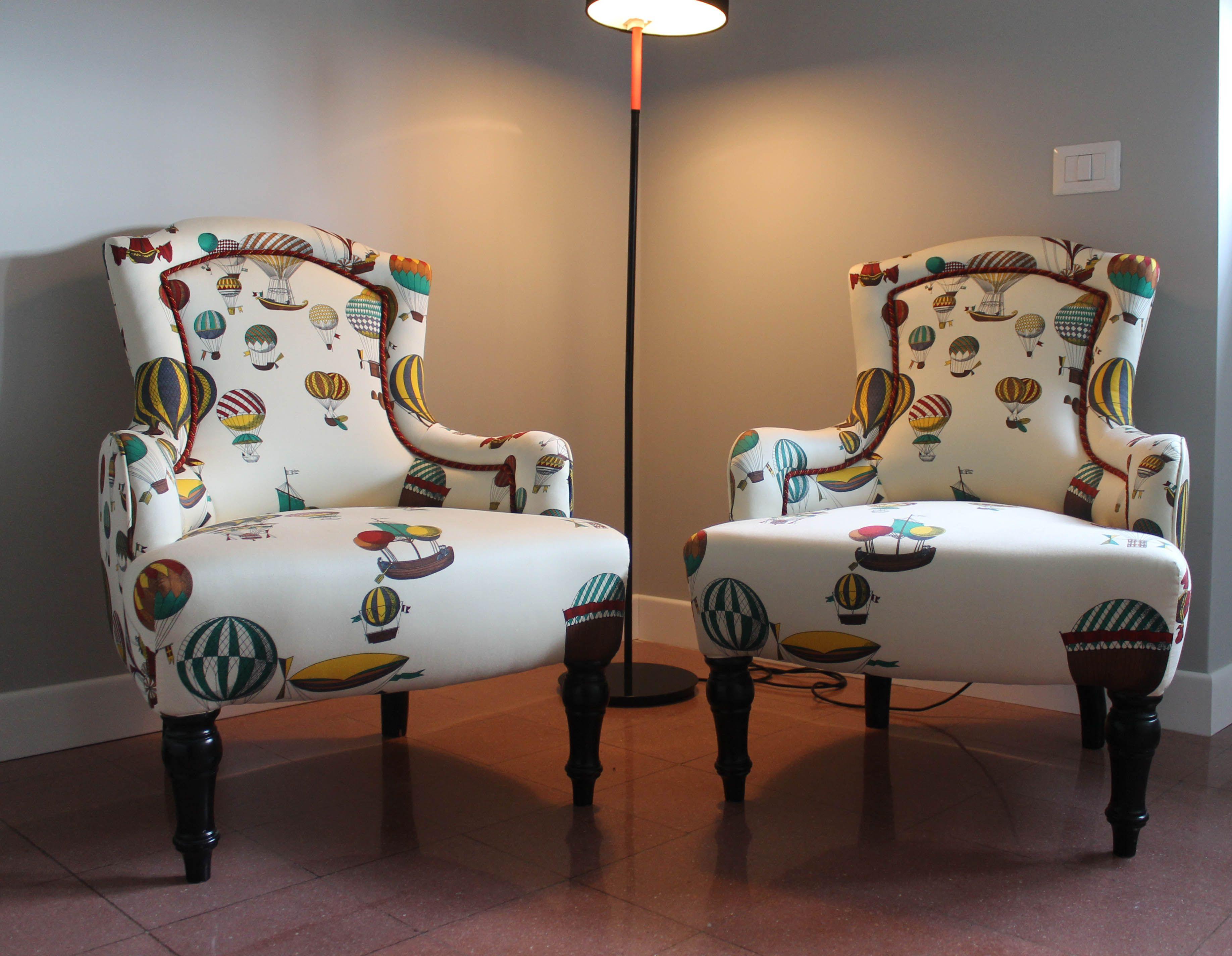 Vecchie poltrone old armchairs Fornasetti CASA M