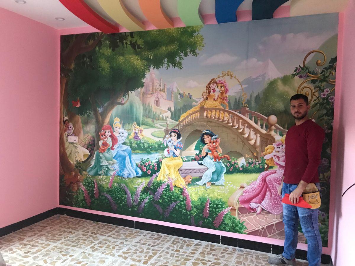 غرف اطفال Wallpaper Painting Art
