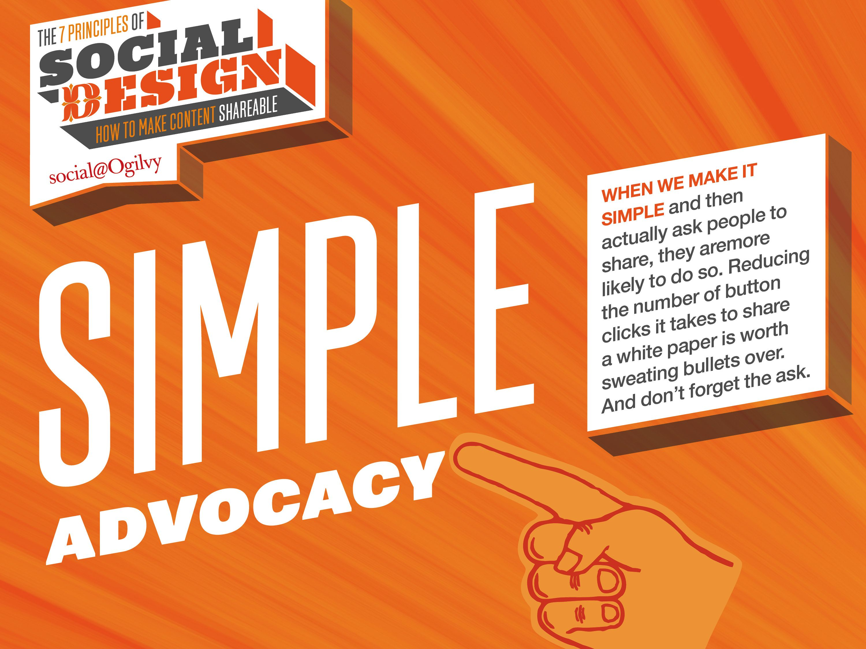 How to make content shareable simple advocacy how to