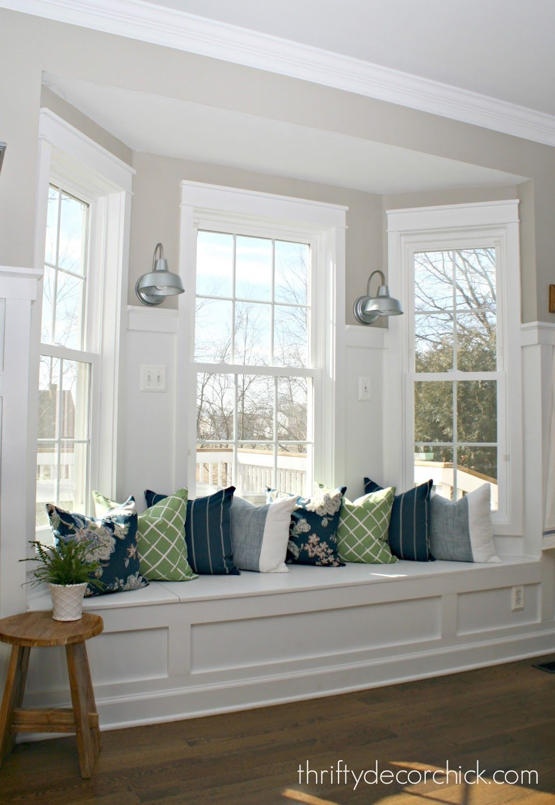 Our Home | Pinterest | Trim work, Household and Kitchen window seats