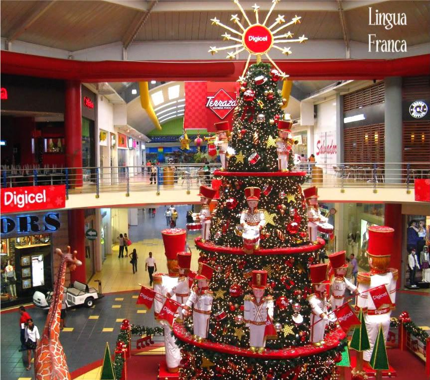 Christmas Decorations At Albrook Mall