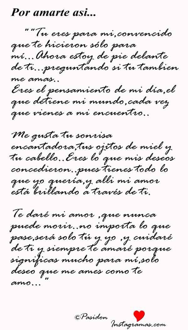 Poema Para Declarar Amor Por Whatsapp Instagramas Com
