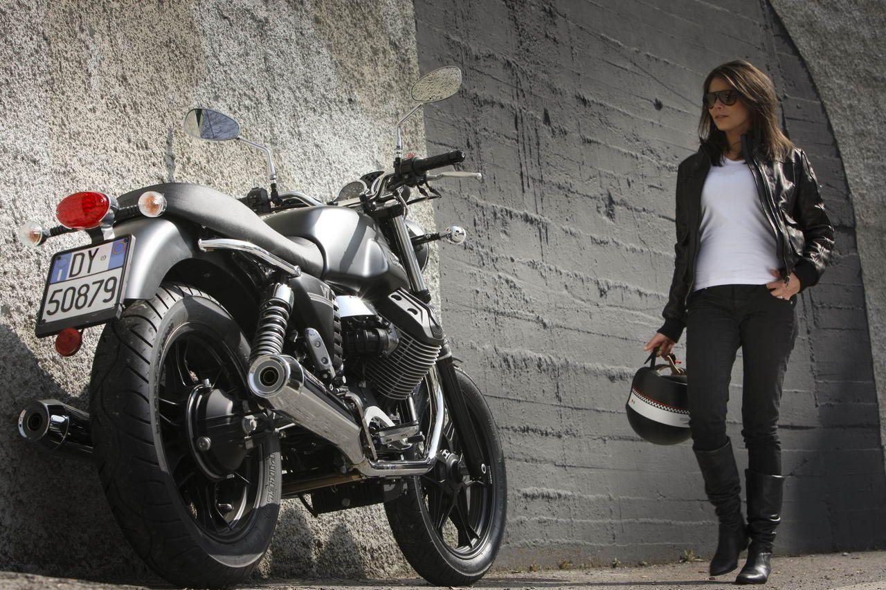 Moto Guzzi And Street