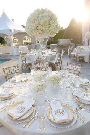gold and white wedding reception decor brides of adelaide magazine