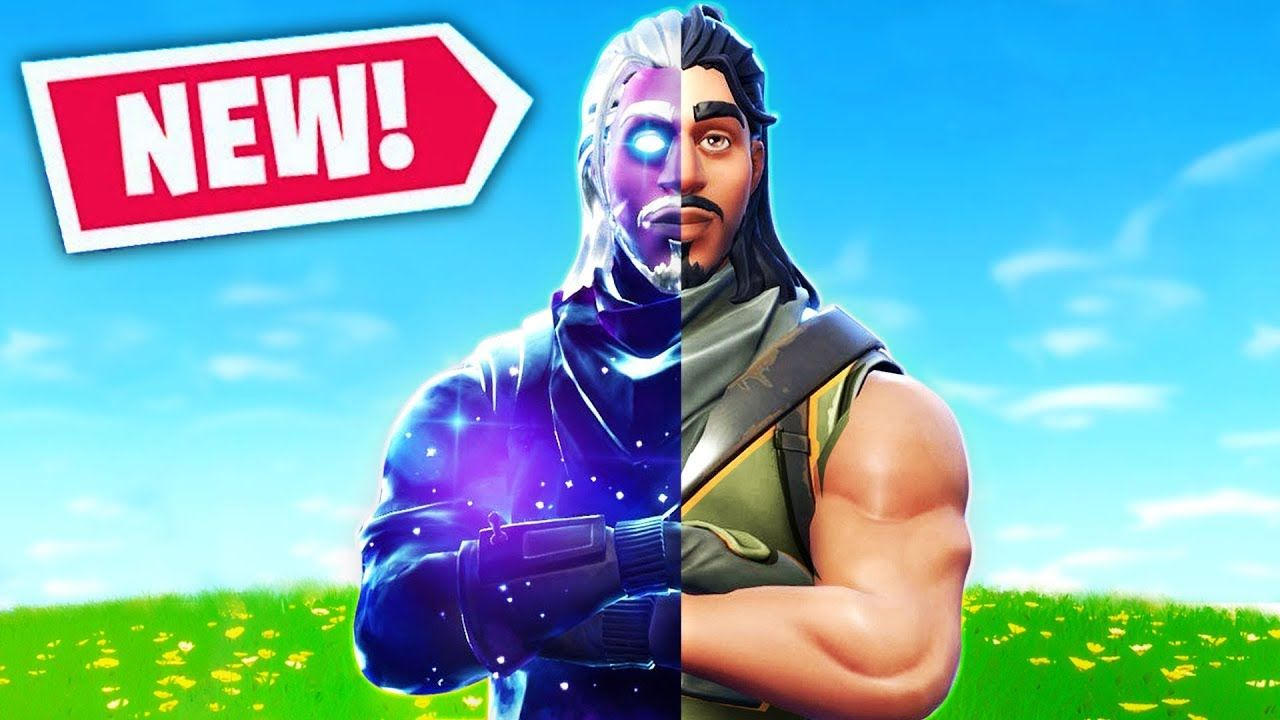 The Ultimate Default Skin In Fortnite Battle Royale Galaxy Skin Youtube Fortnite Skin Galaxy