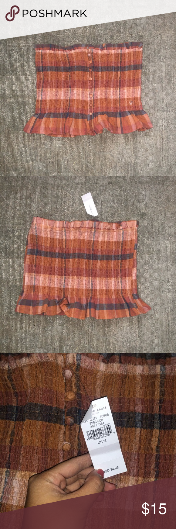 American Eagle Tube Top NWT AE tube top! Super flattering American Eagle Outfitters Tops #tubetopoutfits American Eagle Tube Top NWT AE tube top! Super flattering American Eagle Outfitters Tops #tubetopoutfits