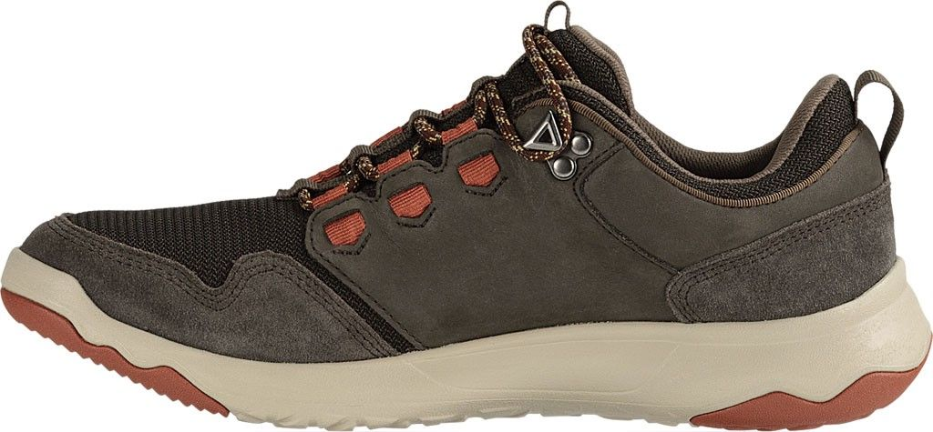 7f45d00d8ab Teva Arrowood Waterproof Hiking Shoe - Black Olive Fired Brick 11.5