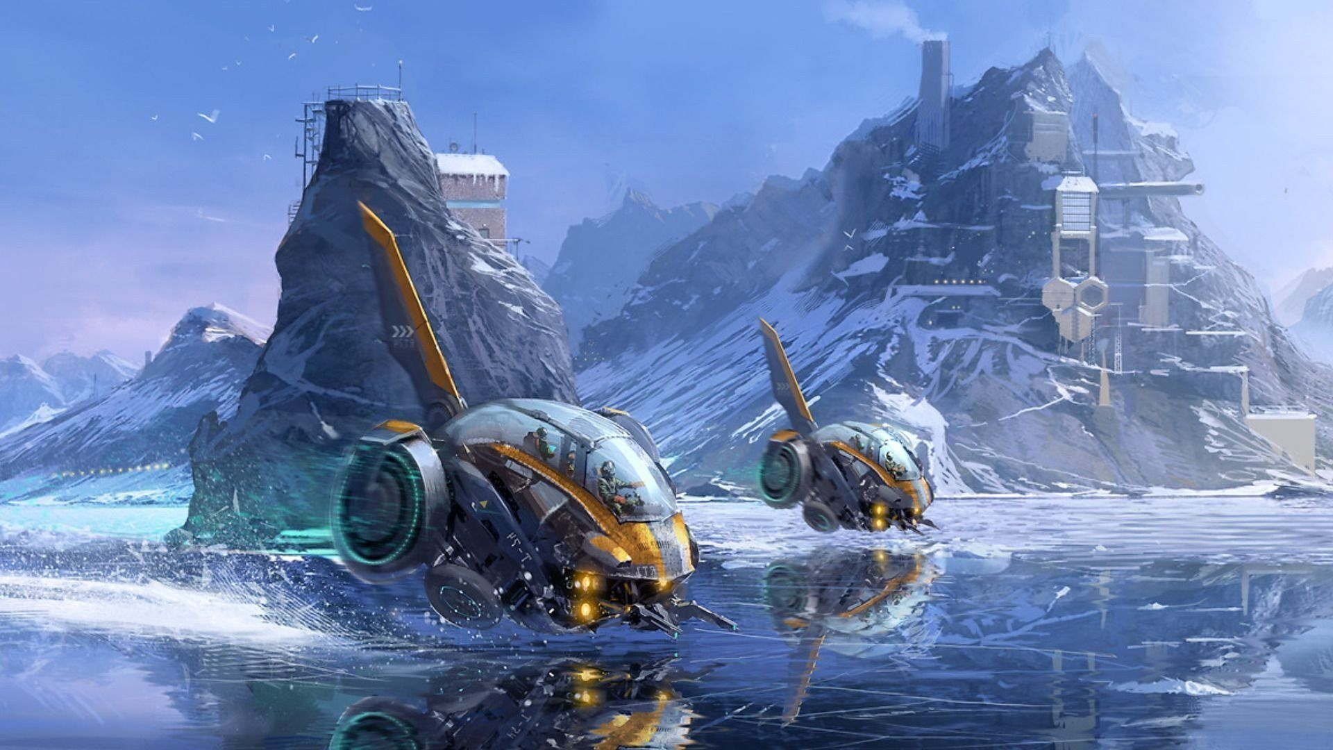 Pin By Micai Nethercott On Sci-Fi Gadgets And Ships