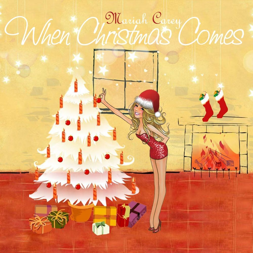 The 1 Place For Album Single Cover S Mariah Carey When Christmas Comes Fanmade Single Cover Mariah Carey Mariah Mariah Carey Pictures