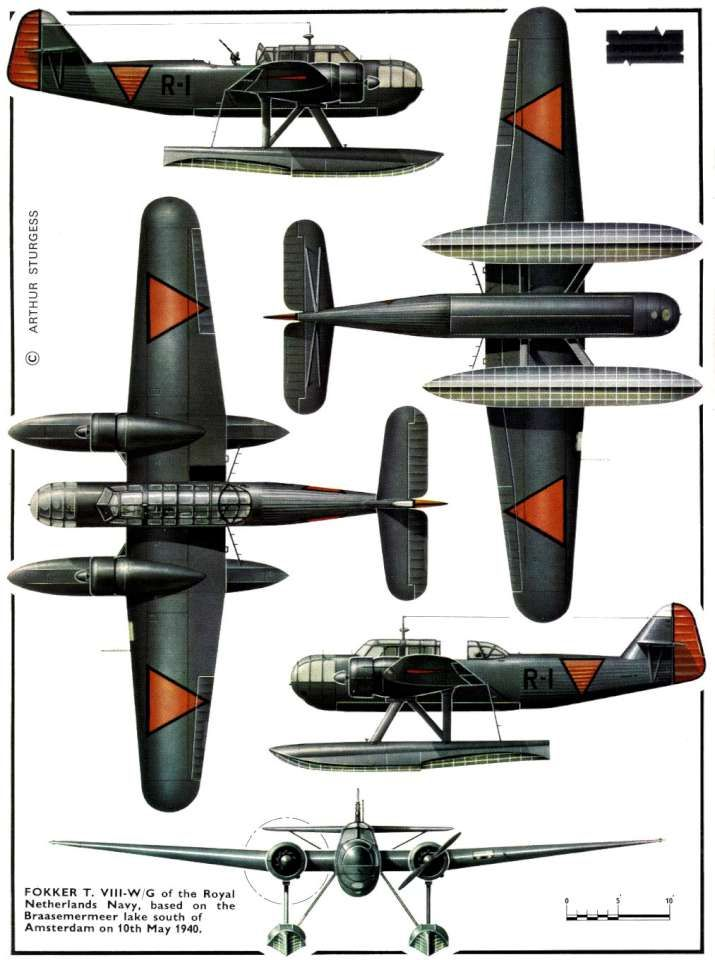 Fokker T.viii | 軍 戦闘機設計/...