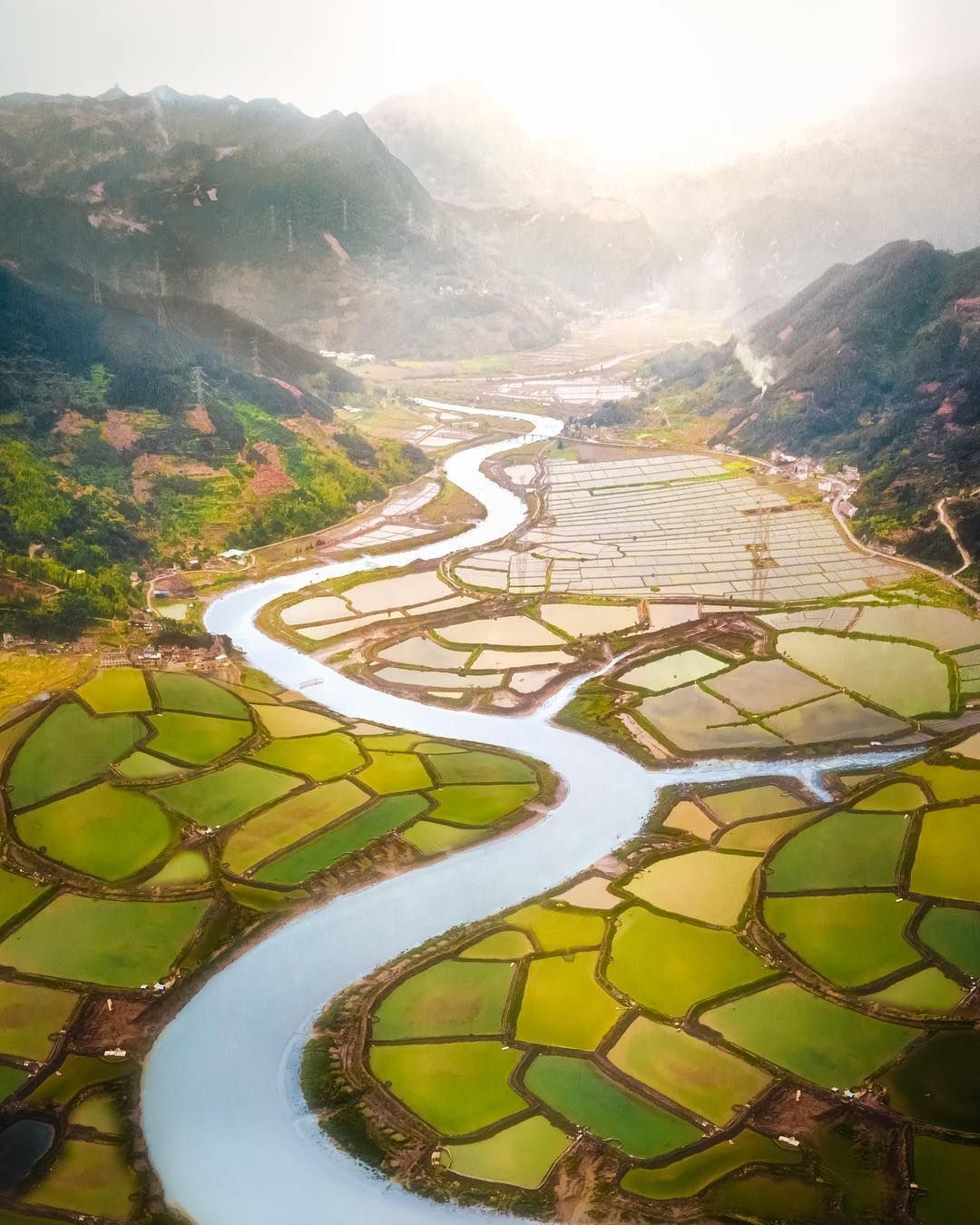 Stunning Drone Photos Offer A Beautiful Glimpse Of Asia From Above Chinese Landscape Asian Landscape Landscape Photography