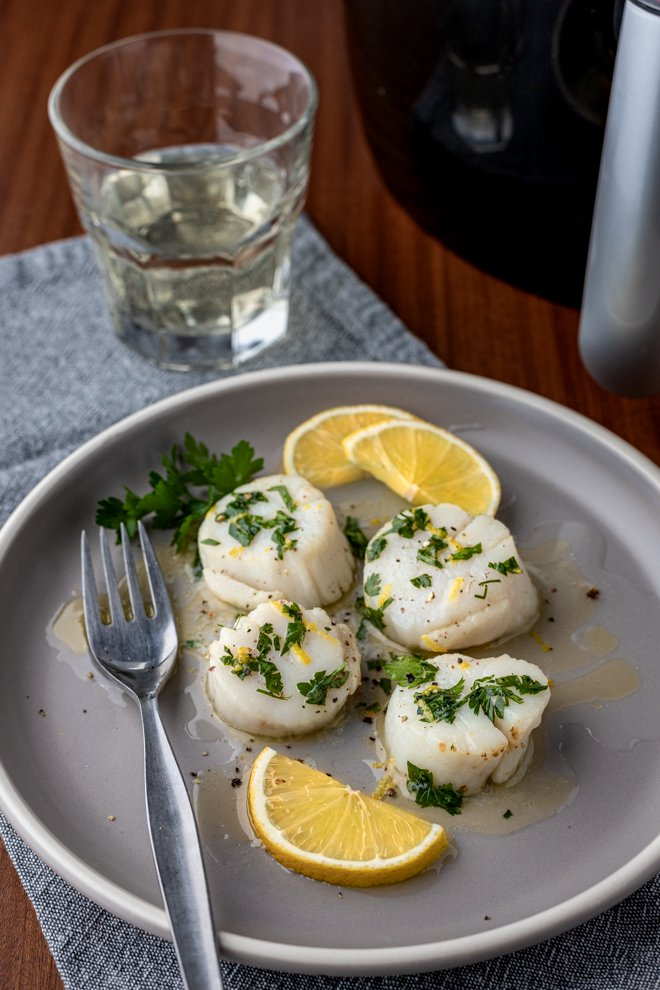 Air Fryer Scallops Recipe in 2020 Seafood recipes