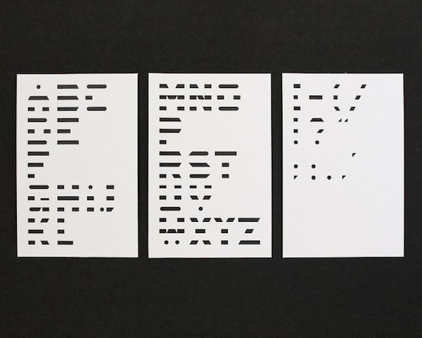 A Morse Code-Inspired Typeface Made Of Dots & Dashes