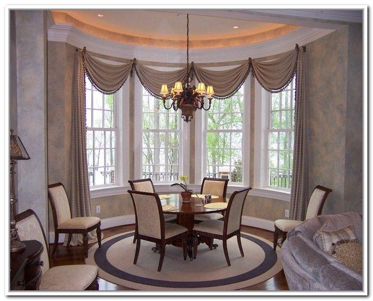 Creative Dining Room Curtain Designs Window Treatments Living