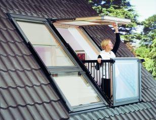 roof windows cabrio balcony
