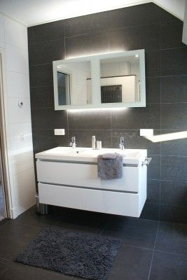 badkamer-meubel-hoogglans-wit-267x400 (267×400)   badkamer, Badkamer