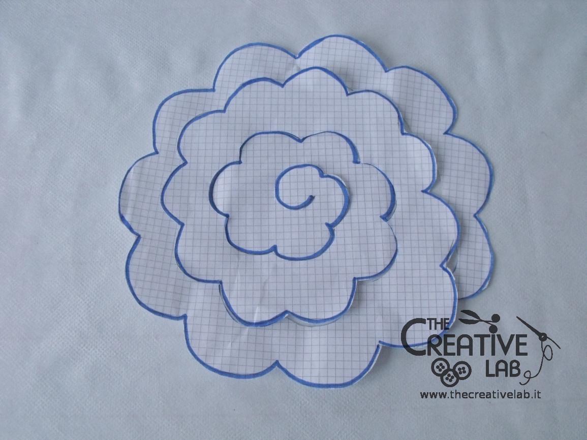 Tutorial come fare fiore stoffa feltro 17 mix for Tutorial fermaporta di stoffa