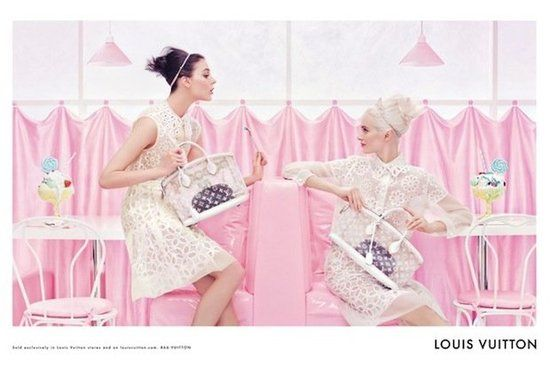 Photographer: Steven Meisell  // Louis Vuitton SS 2012